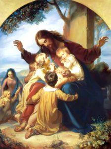 Gesu e i bambini